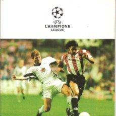 Coleccionismo deportivo: PROGRAMA OFICIAL ATHLETIC CLUB BILBAO - JUVENTUS, CHAMPIONS LEAGUE 10-1998, SAN MAMES. Lote 148232150