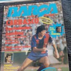 Coleccionismo deportivo: REVISTA BLAUGRANA: LA SAGA DEL BARCA Nº12, DICIEMBRE 1983 (INCLUYE POSTER DE SANCHEZ). Lote 148708946