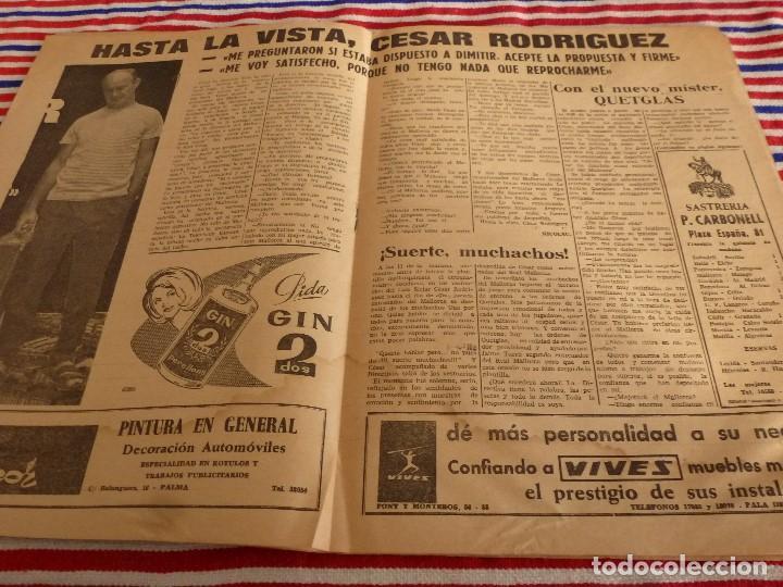 Coleccionismo deportivo: FIESTA DEPORTIVA Nº:324(11-12-65)SEVILLA 3 MALLORCA 1,CONSTANCIA 3 CADIZ 1,ADIÓS CÉSAR - Foto 2 - 148767710