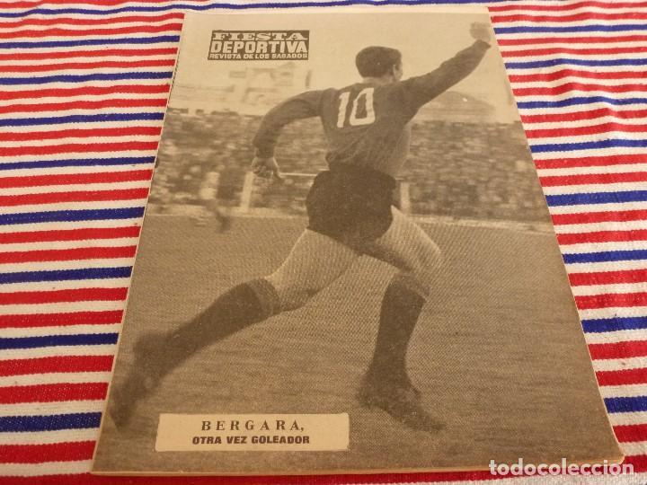FIESTA DEPORTIVA Nº:330(22-1-66) MALLORCA-BETIS. PARERA(C.D.SOLEDAD) (Coleccionismo Deportivo - Revistas y Periódicos - otros Fútbol)