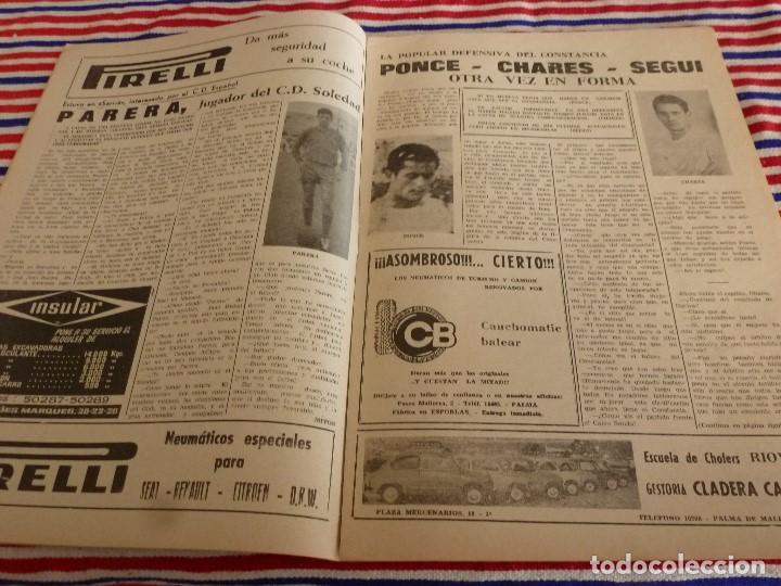 Coleccionismo deportivo: FIESTA DEPORTIVA Nº:330(22-1-66) MALLORCA-BETIS. PARERA(C.D.SOLEDAD) - Foto 2 - 148796130