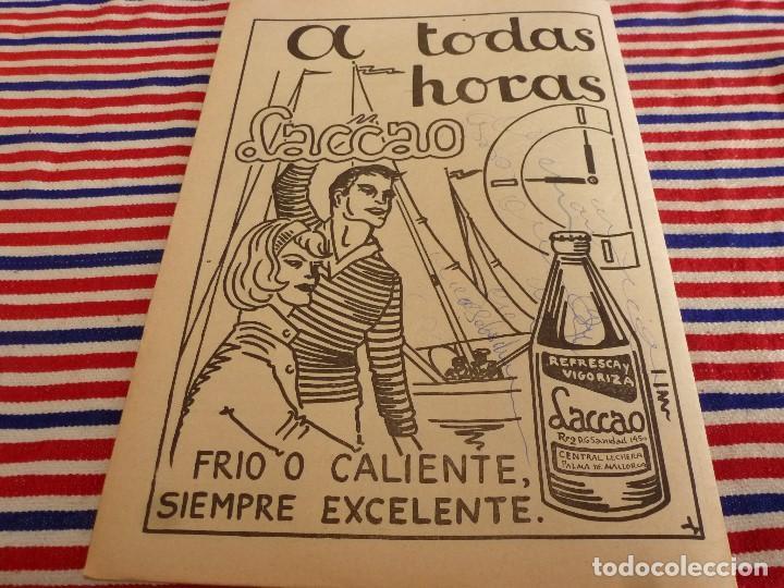 Coleccionismo deportivo: FIESTA DEPORTIVA Nº:330(22-1-66) MALLORCA-BETIS. PARERA(C.D.SOLEDAD) - Foto 3 - 148796130