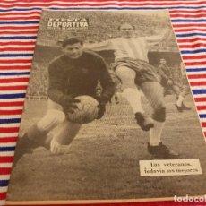 Coleccionismo deportivo: FIESTA DEPORTIVA Nº:335(26-2-66)ESPAÑOL-MALLORCA,DI STEFANO,5 MAGNIFICOS(ZARAGOZA)CONSTANCIA-MURCIA. Lote 194330605