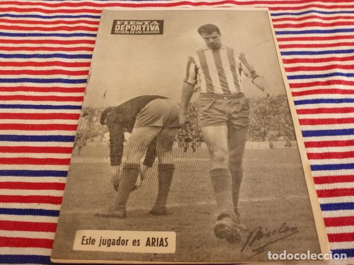 FIESTA DEPORTIVA Nº:339(26-3-66)RIGO Y EL R.MADRID-BARÇA,CONSTANCIA-MESTALLA Y MALAGA-MALLORCA (Coleccionismo Deportivo - Revistas y Periódicos - otros Fútbol)
