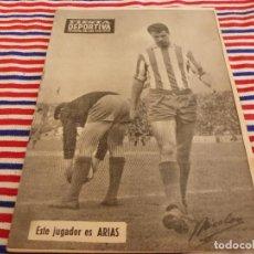 Coleccionismo deportivo: FIESTA DEPORTIVA Nº:339(26-3-66)RIGO Y EL R.MADRID-BARÇA,CONSTANCIA-MESTALLA Y MALAGA-MALLORCA. Lote 148811418