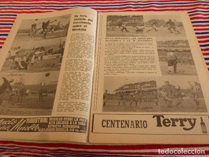 Coleccionismo deportivo: FIESTA DEPORTIVA Nº:339(26-3-66)RIGO Y EL R.MADRID-BARÇA,CONSTANCIA-MESTALLA Y MALAGA-MALLORCA - Foto 2 - 148811418