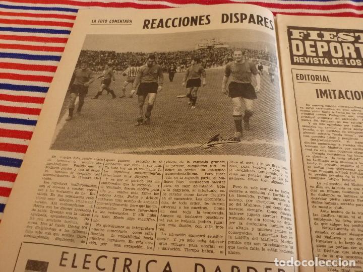 Coleccionismo deportivo: FIESTA DEPORTIVA Nº:339(26-3-66)RIGO Y EL R.MADRID-BARÇA,CONSTANCIA-MESTALLA Y MALAGA-MALLORCA - Foto 3 - 148811418