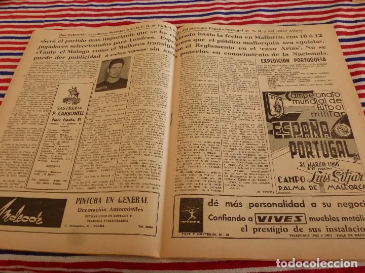 Coleccionismo deportivo: FIESTA DEPORTIVA Nº:339(26-3-66)RIGO Y EL R.MADRID-BARÇA,CONSTANCIA-MESTALLA Y MALAGA-MALLORCA - Foto 4 - 148811418