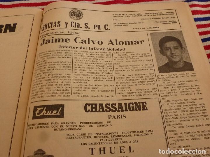 Coleccionismo deportivo: FIESTA DEPORTIVA Nº:339(26-3-66)RIGO Y EL R.MADRID-BARÇA,CONSTANCIA-MESTALLA Y MALAGA-MALLORCA - Foto 6 - 148811418