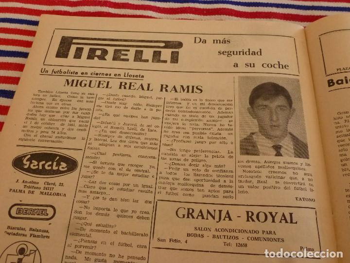 Coleccionismo deportivo: FIESTA DEPORTIVA Nº:339(26-3-66)RIGO Y EL R.MADRID-BARÇA,CONSTANCIA-MESTALLA Y MALAGA-MALLORCA - Foto 7 - 148811418