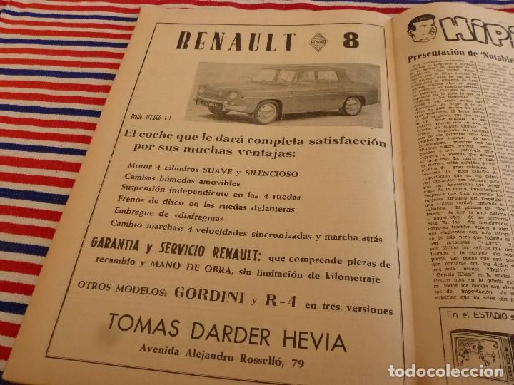 Coleccionismo deportivo: FIESTA DEPORTIVA Nº:339(26-3-66)RIGO Y EL R.MADRID-BARÇA,CONSTANCIA-MESTALLA Y MALAGA-MALLORCA - Foto 8 - 148811418