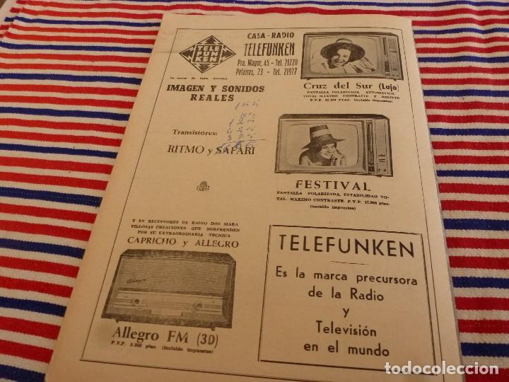 Coleccionismo deportivo: FIESTA DEPORTIVA Nº:339(26-3-66)RIGO Y EL R.MADRID-BARÇA,CONSTANCIA-MESTALLA Y MALAGA-MALLORCA - Foto 9 - 148811418