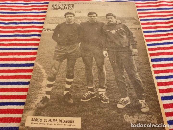 FIESTA DEPORTIVA Nº:340(2-4-66)ESPAÑA MILITAR 1 PORTUGAL MILITAR 0,EUSEBIO(BENFICA) (Coleccionismo Deportivo - Revistas y Periódicos - otros Fútbol)