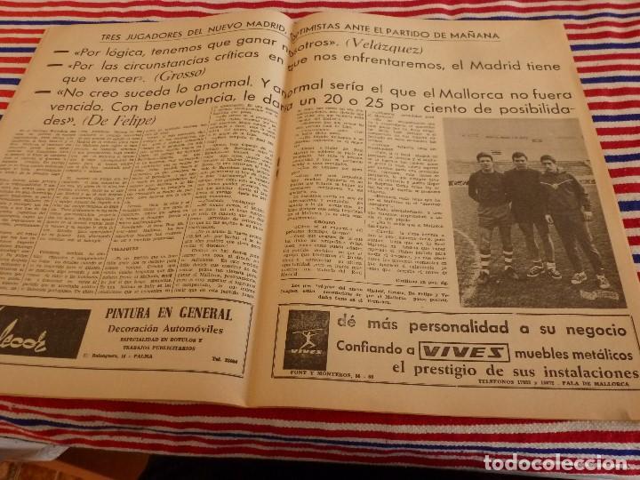 Coleccionismo deportivo: FIESTA DEPORTIVA Nº:340(2-4-66)ESPAÑA MILITAR 1 PORTUGAL MILITAR 0,EUSEBIO(BENFICA) - Foto 5 - 148812070