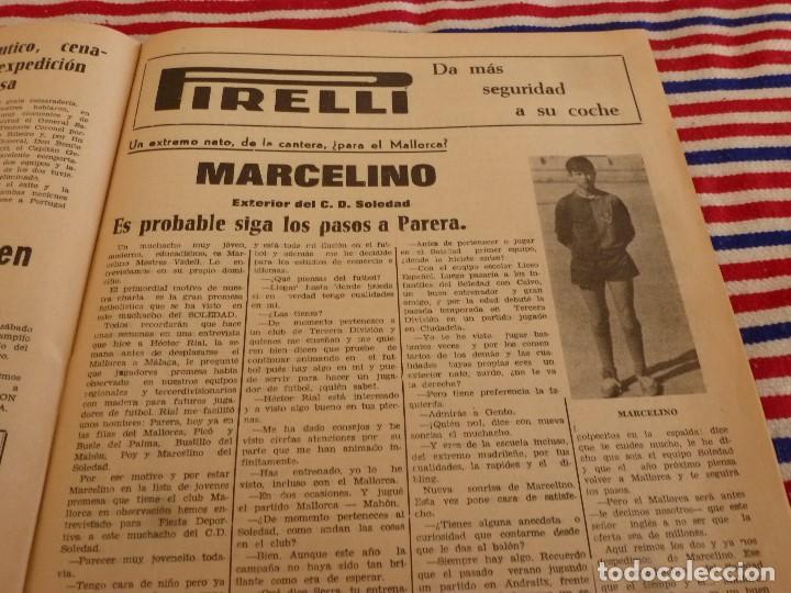 Coleccionismo deportivo: FIESTA DEPORTIVA Nº:340(2-4-66)ESPAÑA MILITAR 1 PORTUGAL MILITAR 0,EUSEBIO(BENFICA) - Foto 6 - 148812070