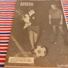Collectionnisme sportif: FIESTA DEPORTIVA Nº:363(10-9-66)PARTIDO ASOCIACIÓN DE LA PRENSA-MALLORCA. Lote 148863438
