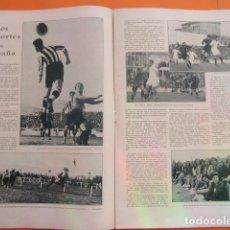Coleccionismo deportivo: ARTICULO 1930 - ESPAÑOL VITORIA - REAL MADRID ARENAS - 2 PAGINAS. Lote 148912230