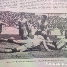 Coleccionismo deportivo: ARTICULO 1930 - ESPAÑOL CONTRA OVIEDO - CICUITO MOTOS DEL VALLES FAURA ALEGRE BALIARDA - 2 PAGINAS. Lote 149309662
