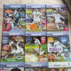 Coleccionismo deportivo: LOTE REVISTAS HALA MADRID JUNIOR DEL 1 AL 9. Lote 149327544