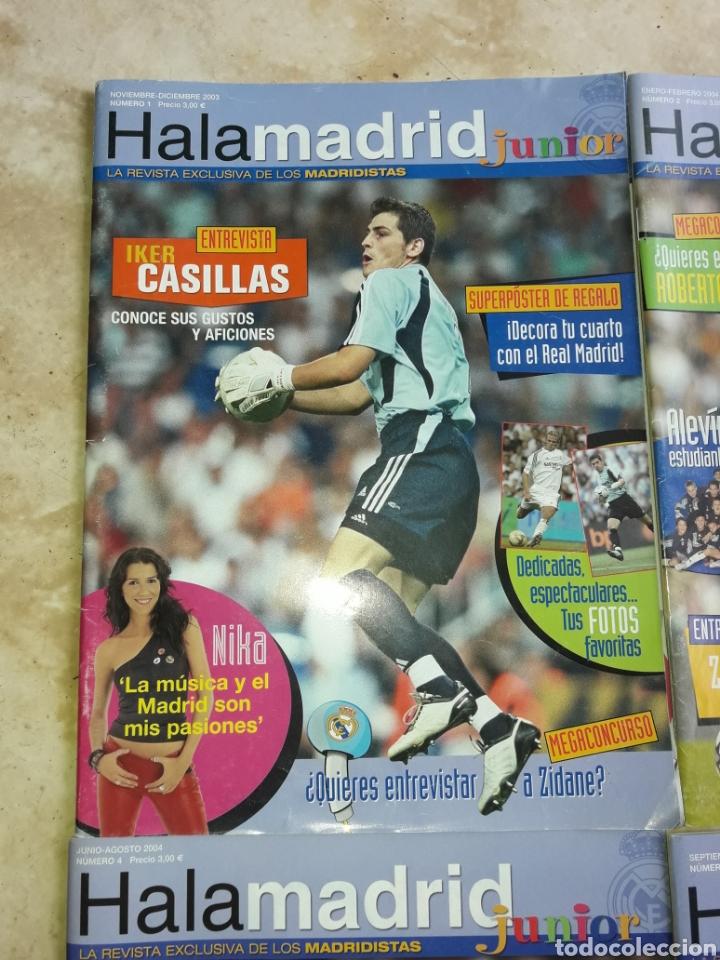 Coleccionismo deportivo: Lote revistas Hala Madrid Junior del 1 al 9 - Foto 2 - 149327544