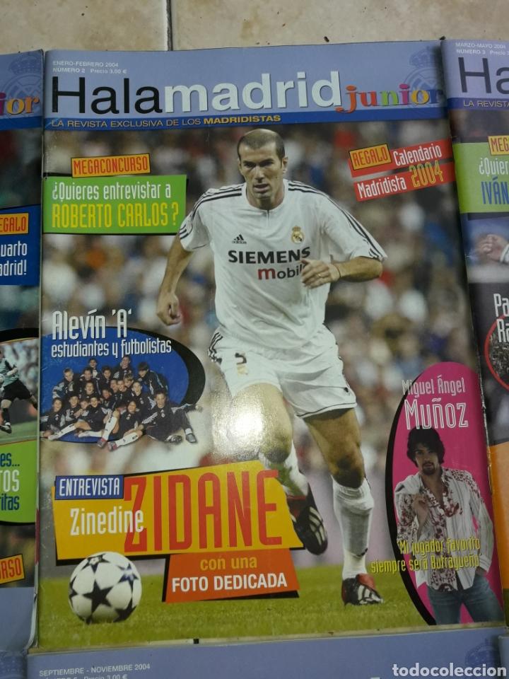 Coleccionismo deportivo: Lote revistas Hala Madrid Junior del 1 al 9 - Foto 3 - 149327544