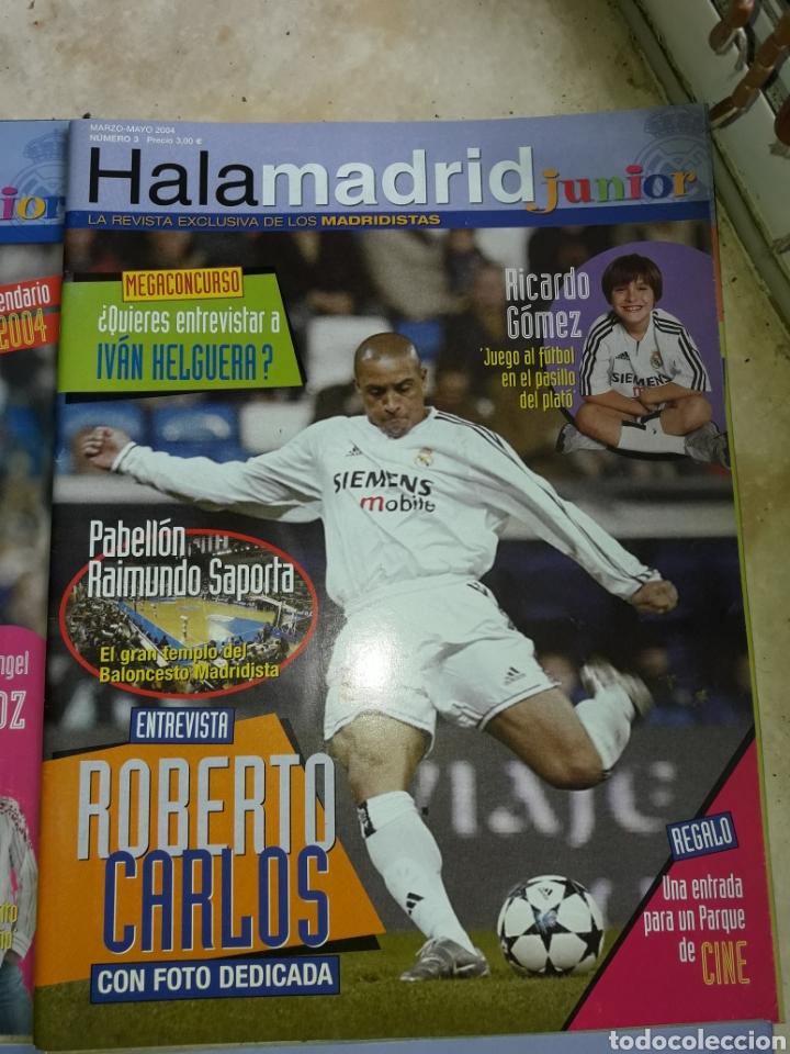 Coleccionismo deportivo: Lote revistas Hala Madrid Junior del 1 al 9 - Foto 4 - 149327544