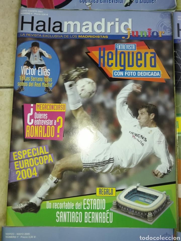 Coleccionismo deportivo: Lote revistas Hala Madrid Junior del 1 al 9 - Foto 5 - 149327544