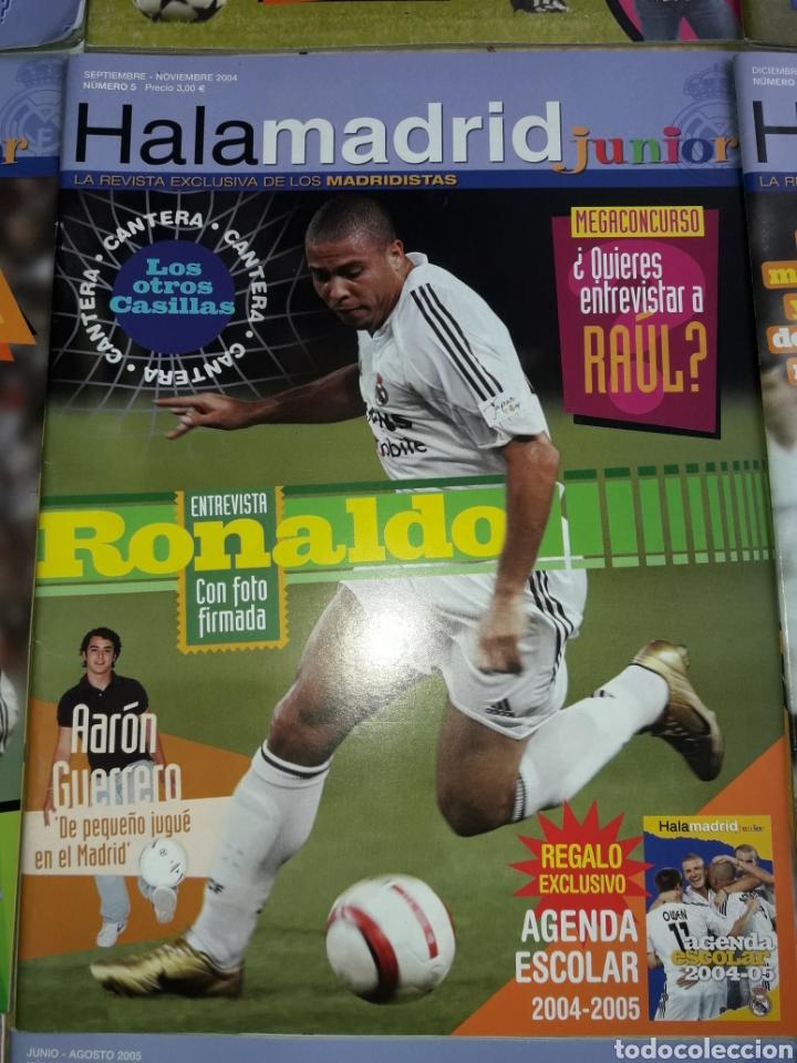 Coleccionismo deportivo: Lote revistas Hala Madrid Junior del 1 al 9 - Foto 6 - 149327544