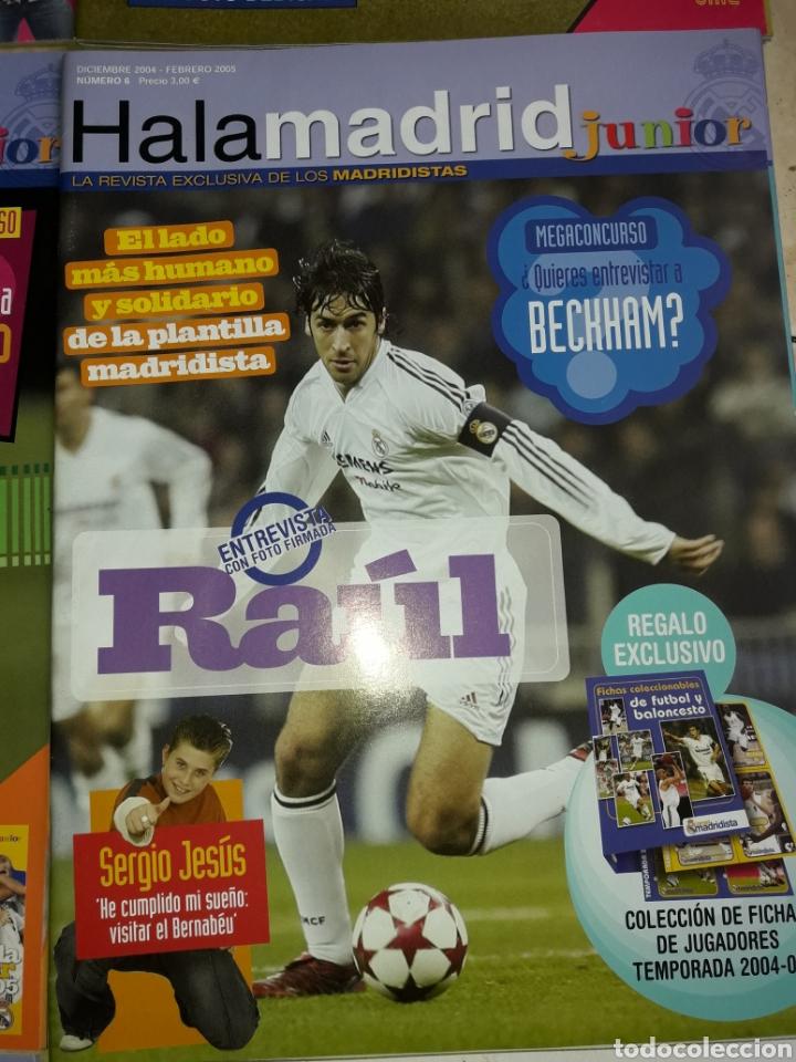 Coleccionismo deportivo: Lote revistas Hala Madrid Junior del 1 al 9 - Foto 7 - 149327544