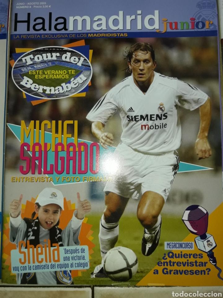 Coleccionismo deportivo: Lote revistas Hala Madrid Junior del 1 al 9 - Foto 9 - 149327544