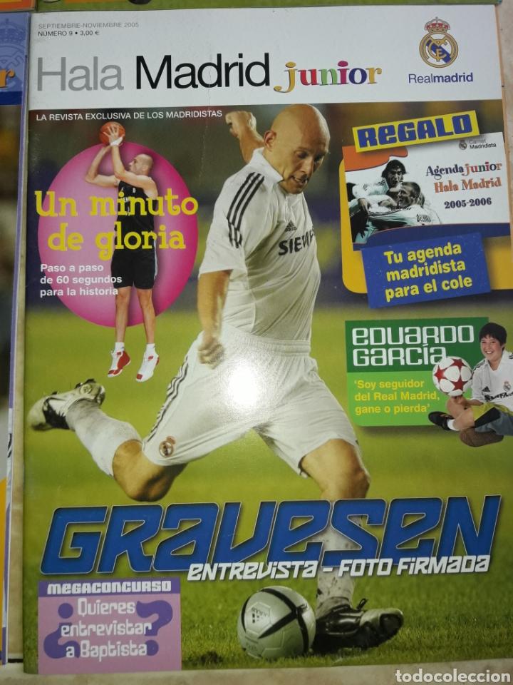 Coleccionismo deportivo: Lote revistas Hala Madrid Junior del 1 al 9 - Foto 10 - 149327544