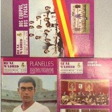 Coleccionismo deportivo: LOTE 5 REVISTAS REAL MADRID AÑO 1970. NÚMEROS 243, 244, 245, 246 Y 247.. Lote 149464162