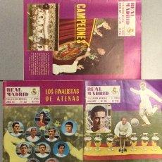 Coleccionismo deportivo: LOTE 5 REVISTAS REAL MADRID AÑO 1971. NÚMEROS 253, 254, 255, 256 Y 257.. Lote 149464290