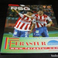 Collectionnisme sportif: PROGRAMA FÚTBOL TEMPORADA 10-11 SPORTING - BARCELONA. Lote 149631102