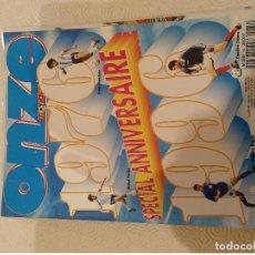 Coleccionismo deportivo: ONZE MONDIAL. ESPECIAL ANIVERSARIO 1976 1996. TEXTO EN FRANCES.. Lote 149678250