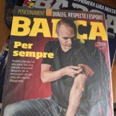 Coleccionismo deportivo: REVISTA OFICIAL DEL FC BARCELONA · BARÇA Nº 89· 2017· PER SIEMPRE ANDRÉS INIESTA. Lote 149827090