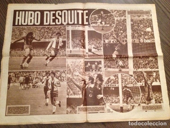Coleccionismo deportivo: Cruyff Dicen... Barça-Español marzo 75 Buen estado - Foto 2 - 150974310