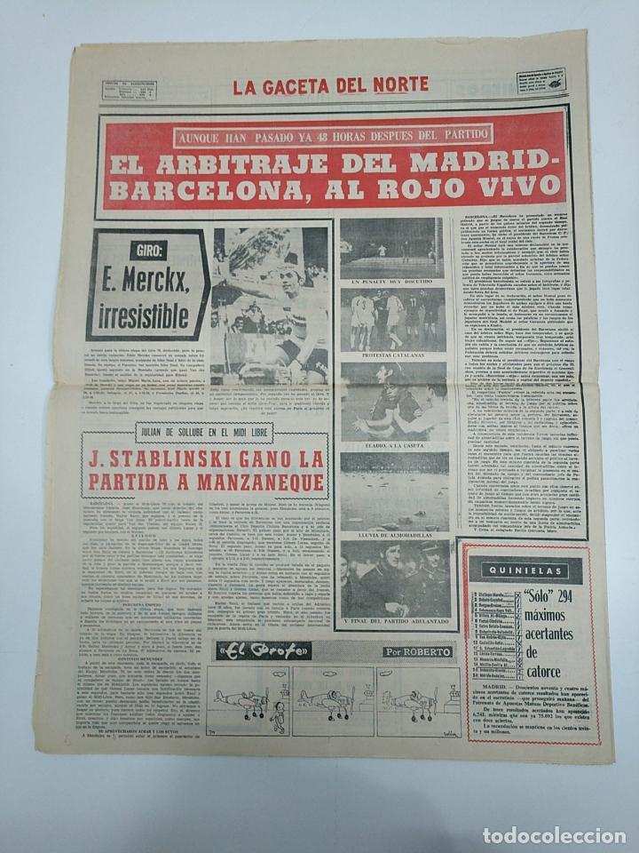 Coleccionismo deportivo: LA GACETA DEL NORTE. MUNDIAL 1970. 9 DE JUNIO DE 1970. SUPLEMENTO DE DEPORTES. TRIUNFO BRASIL TDKPR3 - Foto 2 - 150981030
