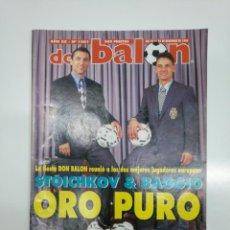 Coleccionismo deportivo: REVISTA DON BALON Nº 1001 STOICHKOV ORO PURO DICIEMBRE 1994. TDKR35. Lote 151115126