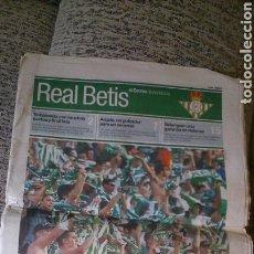 Coleccionismo deportivo: ASCENSO DEL BETIS 2001, JAÉN 0-BETIS 2. Lote 151500654