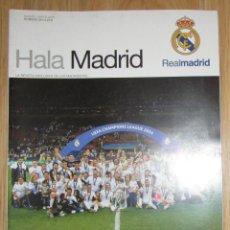 Coleccionismo deportivo: REVISTA HALA MADRID NUMERO 58 REAL CAMPEON UEFA CHAMPIONS LEAGUE COPA DE EUROPA 2016 UNDECIMA. Lote 151538766