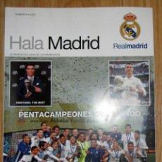 Coleccionismo deportivo: REVISTA HALA MADRID NUMERO 61 REAL CAMPEON FIFA WORLD CUP MUNDIAL CLUBES 2016 CRISTIANO RONALDO . Lote 151539182
