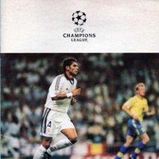 Coleccionismo deportivo: PROGRAMA OFICIAL REAL MADRID - INTERNAZIONALE CHAMPIONS LEAGUE 1998-1999. Lote 151634810