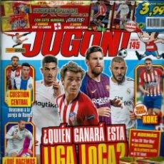 Coleccionismo deportivo: JUGON Nº 145 SIN DESPRECINTAR - CON 2 EDICIONES LIMITADAS DE ADRENALYN 2018/19 - WILLIANS Y VARANE. Lote 156787594