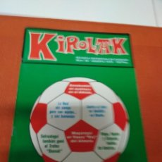 Coleccionismo deportivo: KIROLAK Nº 90 -1979 SENEKOVITCH UN AUSTRIACO EN EL ATHETIC / MAGUREGUI UN VASCO REY DEL ALMERIA. Lote 151848594