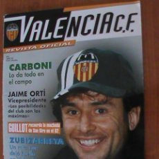 Coleccionismo deportivo: REVISTA OFICIAL VALENCIA C.F. Nº 4. ABRIL 1999. Lote 151909082