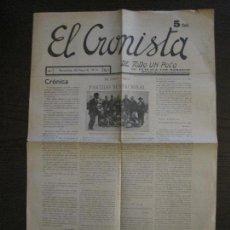 Coleccionismo deportivo: FC BARCELONA VS NOTTS COUNTY-PERIODICO EL CRONISTA AÑO 1914-VER FOTOS(V-15.958). Lote 152210534
