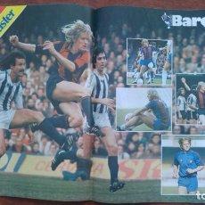Coleccionismo deportivo: REVISTA BARCELONISTA BARÇA Nº851 1981 POSTER SCHUSTER NEESKENS ARTOLA URRUTI. Lote 152436682