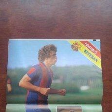 Coleccionismo deportivo: REVISTA BARCELONISTA BARÇA Nº854 1981 POSTER ESTEBAN QUINI MARADONA. Lote 152437862