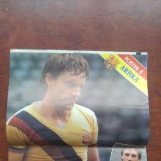Coleccionismo deportivo: REVISTA BARCELONISTA BARÇA Nº854 1981 POSTER ARTOLA MORATALLA GERARDO. Lote 152438182